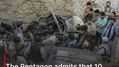 Photo of The Pentagon admits that 10 civilians, including 7 children, were killed in a US raid on Kabul