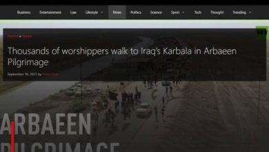 Photo of The Global Herald publishes an illustrated report on Arbaeen