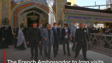Photo of The French Ambassador to Iraq visits Imam Ali Holy Shrine and expresses his admiration for its historical and archaeological landmarks