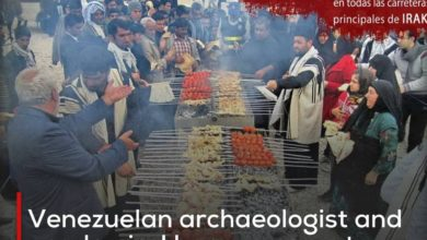 Photo of Venezuelan archaeologist and academic: I hope my country witnesses a peaceful event like the Arbaeen