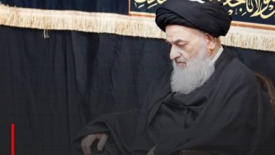 Photo of The house of Grand Ayatollah Shirazi offers condolences to Imam al-Mahdi on Arbaeen