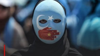 Photo of March in Paris against the genocide of the Muslim minority in China