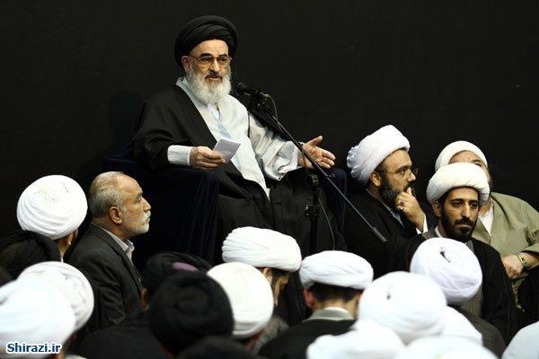تصویر 'گردهمایی مبلغین در محضر آیت الله العظمی شیرازی