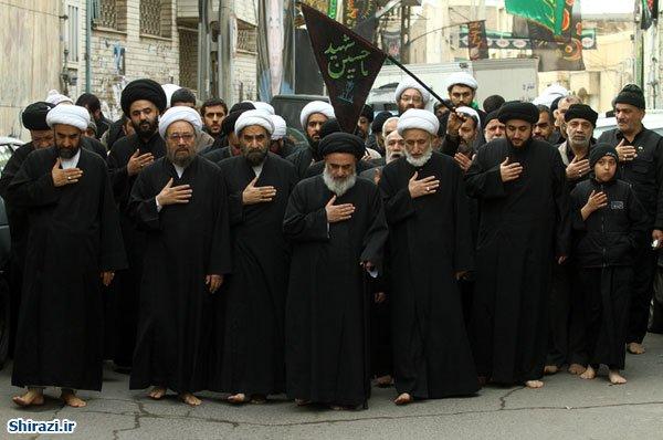 تصویر پیاده روی بزرگ احیاگر شعائر حسینی در روز عاشورا + تصاویر