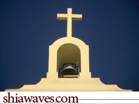 تصویر مسیحی های عراق به احترام اربعین حسینی جشن میلاد نمی گیرند