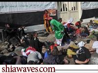 تصویر جنایت جدید وهابیون علیه عزاداران حسینی در پاکستان