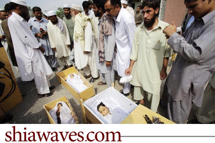 تصویر كشته شدن 6 هزار كودك شيعه در پاكستان