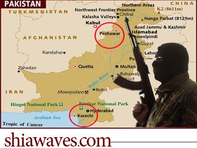 تصویر شهادت سه شیعه پاکستانی توسط پیروان سقیفه