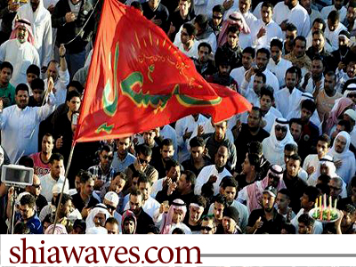 تصویر برگزاری تظاهرات در ریاض در اعتراض به بازداشت شماری از روحانیون عربستان