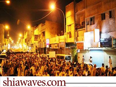 تصویر راهپیمایی های مردمی در ریاض پایتخت عربستان در حمایت از زندانیان