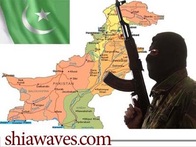تصویر شهادت چهار تن از شیعیان کراچی