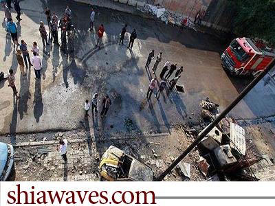 تصویر انفجار های خونین در عراق