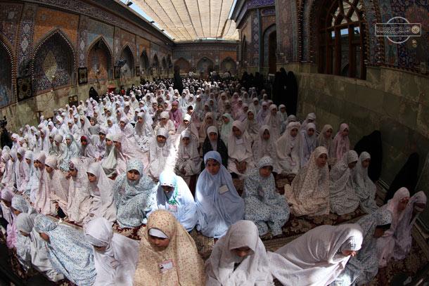 Photo of برگزاری مراسم جشن تکلیف در کربلای معلی