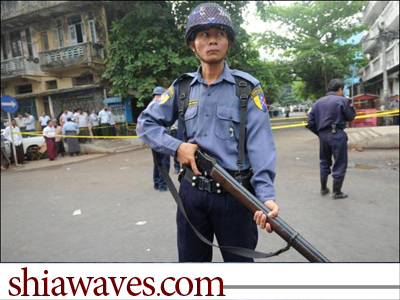 تصویر نقش دولت میانمار در خشونت ها علیه مسلمانان