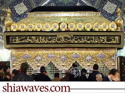 تصویر آرامش و امنیت کامل در اطراف مرقد حضرت رقیه(سلام الله علیها)