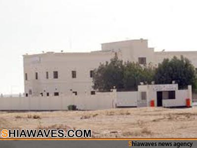 تصویر یورش نیروهای ضد شورش رژیم آل خلیفه به یک زندان