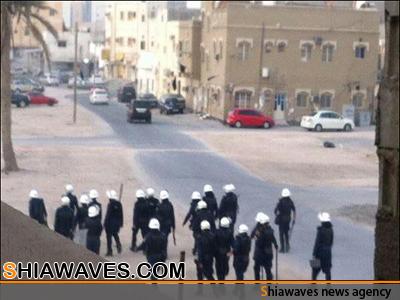 تصویر بازداشت 300 فعال بحرینی در یک ماه