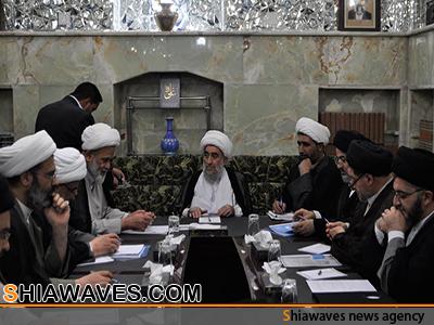 تصویر نشست مشترک متولیان عتبات عالیات در نجف اشرف