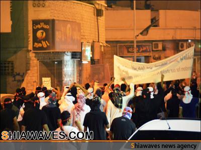 تصویر تظاهرات گسترده شیعیان در  قطیف عربستان