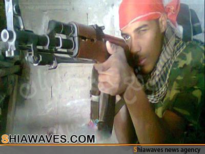 تصویر شهادت مدافع آفریقایی حرم حضرت زینب کبری سلام الله علیها