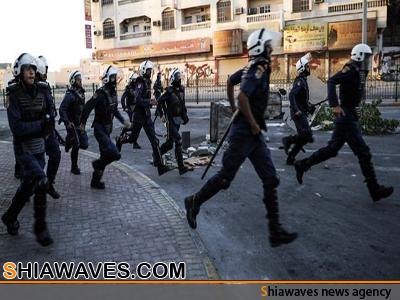تصویر بازداشت و حبس شیعیان در بحرین