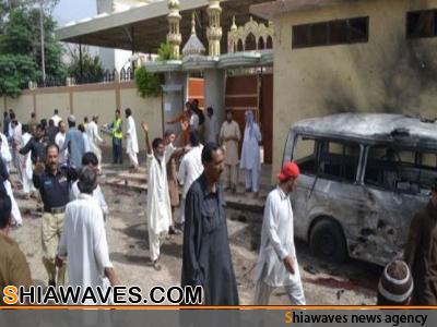 تصویر بمب گذاری دریک مراسم تشییع جنازه در کویته