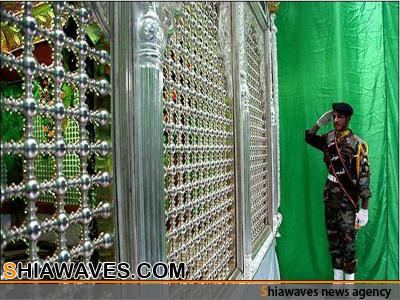 تصویر آغازعملیات نصب ضریح سفیر حسینی حضرت مسلم بن عقیل علیه السلام