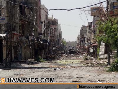 تصویر حمله تروریستی به روستای شیعه نشین سوریه