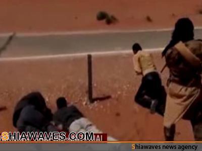 تصویر تیرباران 3 راننده شیعه در سوریه +فیلم