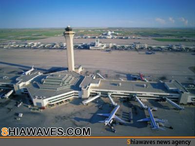 تصویر ساخت بزرگترین فرودگاه عراق در نزدیکی کربلا و نجف