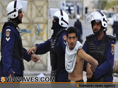 تصویر ربودن دو نوجوان بحرینی بدست مزدوران آل خلیفه