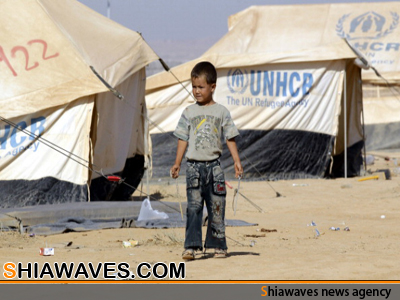 تصویر محرومیت 40درصد کودکان سوری از رفتن به مدرسه