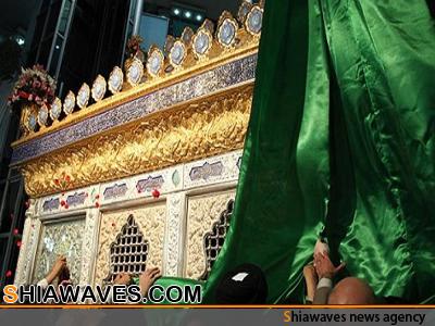 تصویر رونمایی از ضریح منور سفیر حسینی حضرت مسلم بن عقیل