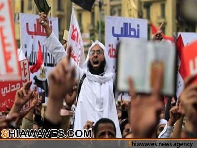 تصویر توزیع کتابی در توهین به شیعیان ، این بار درمصر