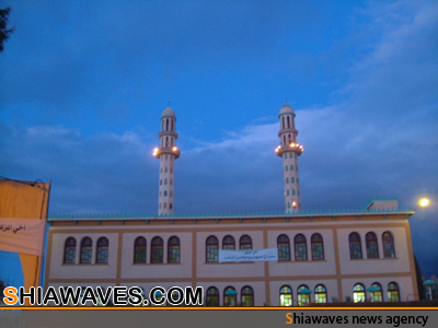 تصویر بستن مساجد الجزائر در خصومت با شیعیان
