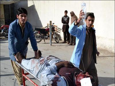 تصویر شهادت 8 شیعه پاکستانی بر اثر حمله افراطیون سنی