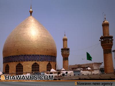 تصویر انفجار تروریستی در نجف اشرف