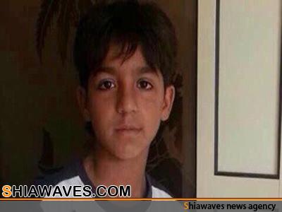 تصویر کودک 10 ساله بحرینی برای بازجویی فراخوانده شد