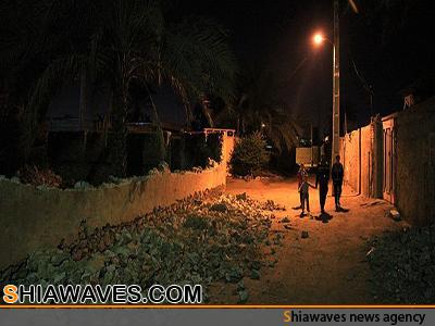 تصویر وقوع زلزله در استان بوشهر ایران