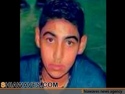 تصویر شهادت نوجوان بحرینی بر اثر شدت جراحات وارده