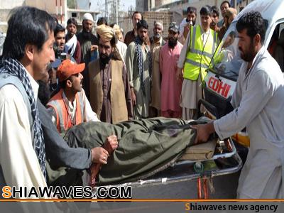 تصویر ترور دو سنی به جرم عزاداری امام حسین علیه السلام در پاکستان