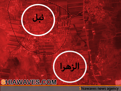 تصویر 750شهید در دوشهر شیعه نشین در سوریه