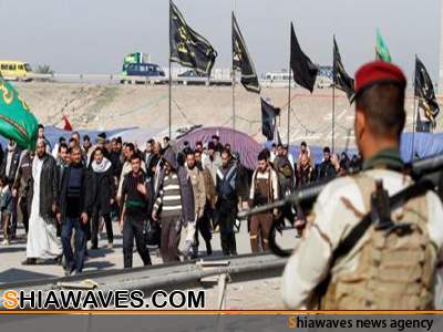 تصویر طرح امنيتی عراق برای تامين امنيت اربعين حسينی