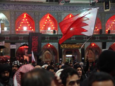 تصویر حضور چشمگیر بحرینیها در اربعین حسینی در کربلا