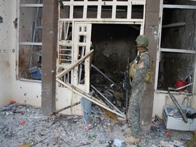 تصویر تخریب خانه هاي شيعيان در استان بابل عراق