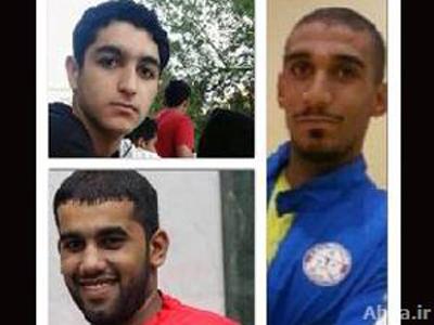 تصویر بازداشت سه ورزشکار شیعه در بحرین