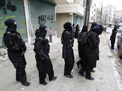 تصویر به دام افتادن مسئول اصلی عضوگیری جهاد نکاح در الانبارعراق