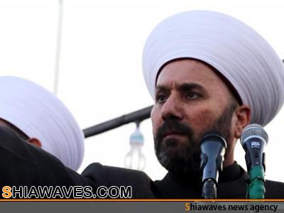 تصویر اظهارات فرقه گرایانه یک مفتی عراقی علیه شیعیان