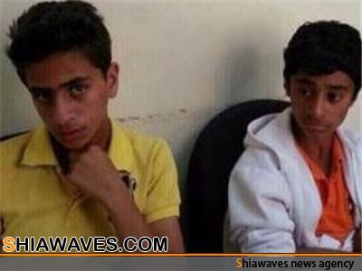 تصویر تمدید مدت بازداشت دو نوجوان شیعه توسط مقامات قضایی بحرین