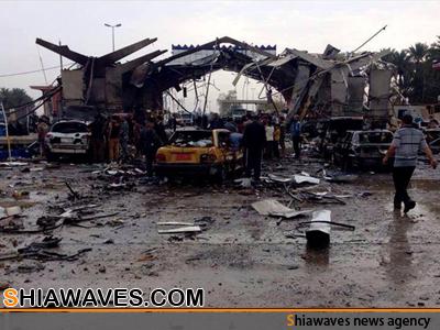 تصویر انفجار خونین در شهر شیعه نشین حله عراق+ عکس
